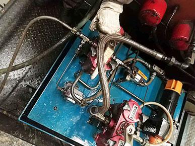 欧洛普现场测绘整改过滤设备 山西侯马钢厂更换时间提升10倍